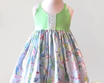 Mermaid Dress | Girl Mermaid Dress | Baby Mermaid Dress | Toddler Mermaid Dress | Mermaid Birthday | Beach Mermaid Dress | Summer Dress