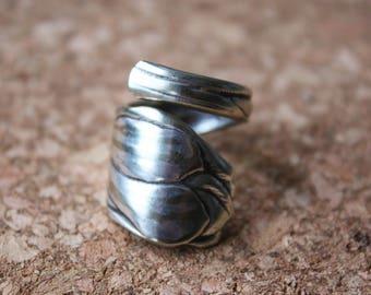 Theelepel Ring Tulip