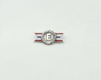 Collectable Boy Scouts of America Explorer Scout Vintage Sterling Silver Pin FREE SHIPPING!  #EXPL-PN2