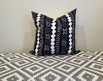 Mudcloth pillow cover, Mudcloth pillow, african mudcloth, decorative pillows, mudcloth, decorative mudcloth, decorative mudcloth pillow