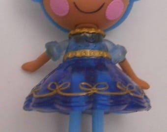 CUSTOM Ornament Made From Lalaloopsy Bijou Treasure Trove NEW Blue