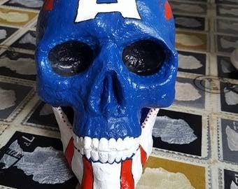 Captain America inspired skull!