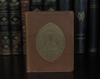 Antique Poetry Book 1894, in English - Legende Monastica and other Poems - Religious Poems, Ballads, and Hymns Decorative