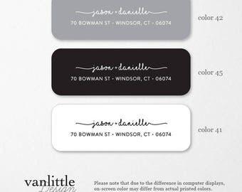 Personalized Return Address Labels, Custom Self-Adhesive Labels, Return Address Stickers, Return Address, Return Labels, RAL12