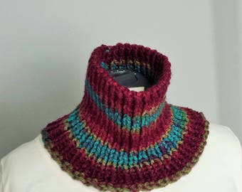 Journey Cowl - Hand Knitted for Adult Size