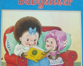 An All New Happy Ending Book -  Tiggy and the Babysitter - Children's Picture Story Book