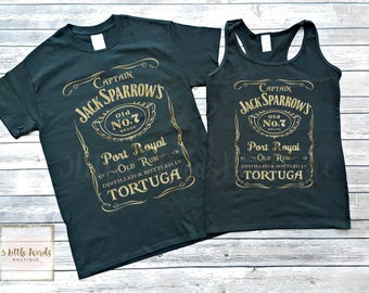 Jack Sparrow Shirt | Pirates of the Caribbean | Epcot Food and Wine | Disneyland | Disney Vacation | Pirate Shirt |Drinking Around the World
