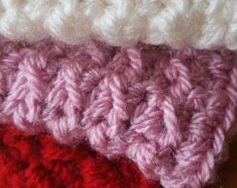 Handmade wash cloths/dish cloths, wash cloth, dish cloth.  Set of 3