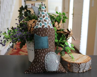 Tooth Fairy House Pillow, Secret Pocket Pillow, Gnomes, Fairy Doors, Kids Pillows, Pretend Play, Gnome Doors, Nordic Gnomes, Scandinavian