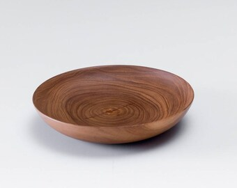 Teak Wood Saucer