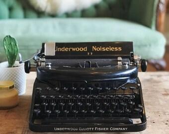 Typewriter Underwood typewriter antique typewriter old typewriter black typewriter classic typewriter small typewriter decorative typewriter