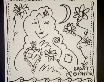Moon Goddess Spirit Vision