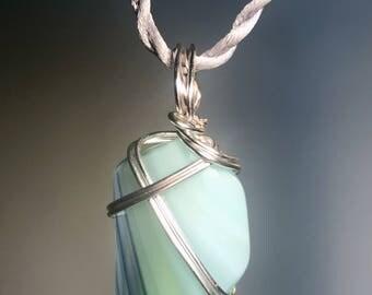 Murano Swirled Glass Pendant