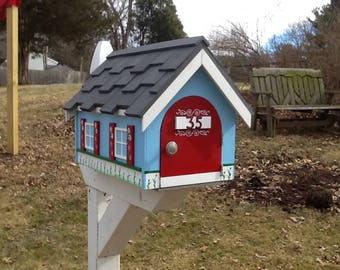 Rural Country Cottage Mailbox