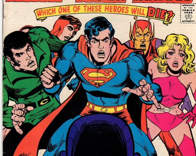 Superboy Comic Book #228 DC Comics 1977 F-VF