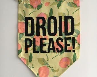 Droid Please! Banner