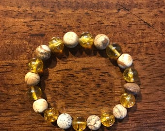 Picture Jasper Heat Treated Citrine