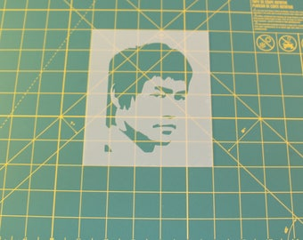 Bruce Lee Stencil - Reusable DIY Craft Stencils of Bruce Lee