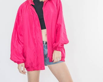 Vintage 90s Tiffany Bomber Jacket