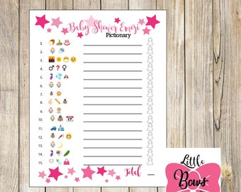 Fun Baby Shower Game | Etsy