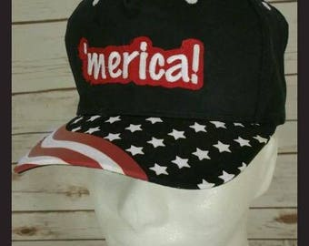 Short Bill 'merica Hat