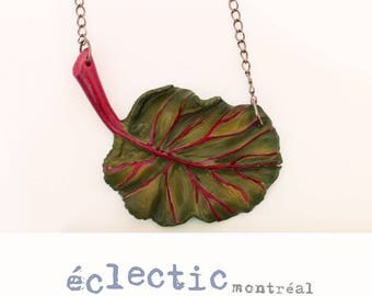 Chard necklace