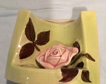 Wall Pocket - Crushed Vase Style