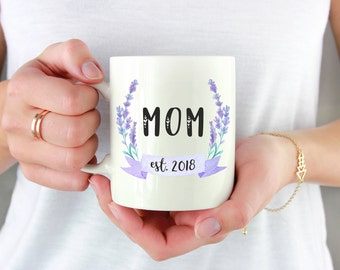 New Mom Mug, Mom Mug, Mom Coffee Mug, First Time Mom Mug, Mom To Be Gift, Mom Established, Baby Shower Gift, Mom To Be, My New Name Is Mommy