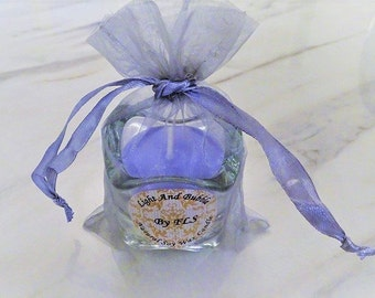 Purple soy candle - Lavender essential oil fragrance