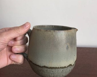 Small Studio Pottery Pitcher or Creamer