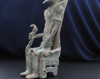 Old bronze from west africa