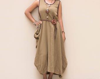 Boho Dress Maxi Ethno Dress Bohemian Dress Gypsy Dress Hippie Dress Tribal Dress Nepali