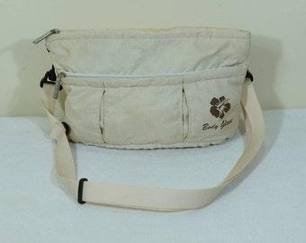 Vintage body glove Women Nylon Travel Passport Bag Crossbody Useful Shoulder Bag