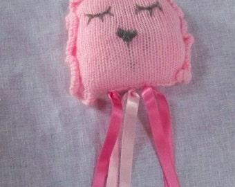 Pink toy knitting pattern
