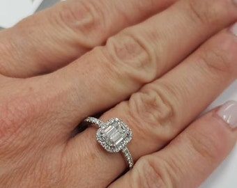 15 carat diamond ring emerald cut diamond ring engagement ringbig diamond ring - Big Diamond Wedding Rings