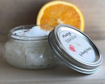 Orange Sugar Scrub | Made with love