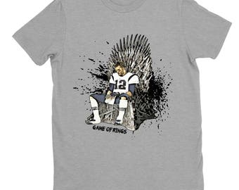 The Original--Tom Brady King of the North shirt, Grid Iron Throne Shirt, Game of Rings Sunday Football Shirt.
