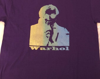 Andy Warhol Purple