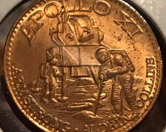 Mission: Manned Lunar Landing Rocket Saturn V - Apollo XI Armstrong, Aldridge, Collins