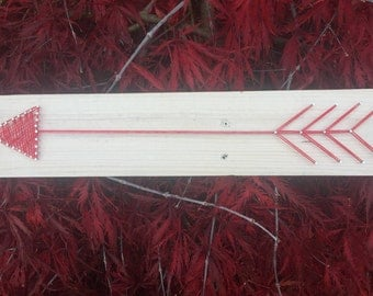 Single Arrow String Art