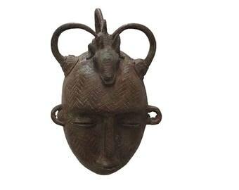 Bronze mask of Abomey