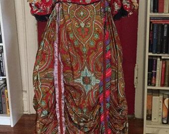 17th Century Maquerade Opera Costume