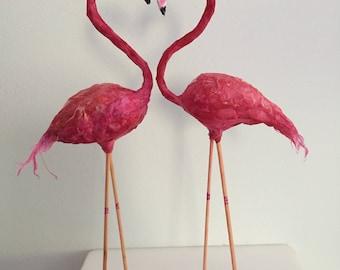 Flamingo cake topper/ ornament