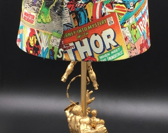 Marvel Superhero Lamp