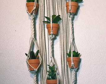 Macrame Small Plant Holder