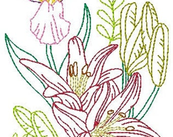 Flower Arrangement (6 Designs)