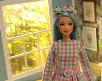 Ooak Barbie doll by Nerea Pozo (fashionista n69) Custom repaint doll