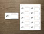 Holiday Gift Swap, Yankee Swap, or Dirty Santa, Best Gift Voting Ballots - Editable, Instant Digital Download PDF