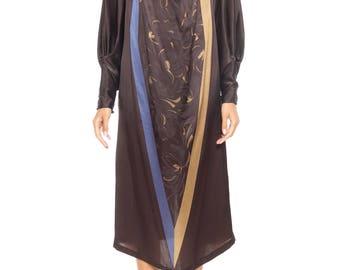 1980s Gianni Versace Satin Tunic Dress Size: 6