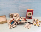 Tarot Cards, Vintage Tarot Cards, Complete Boxed Set, 1970's , Made in Switzerland, Psychic Tarot Card Readings